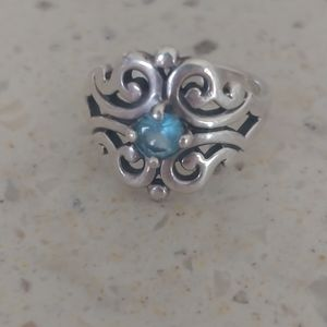 James Avery Topaz Spanish Lace Ring